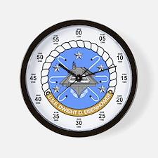 USS Dwight D. Eisenhower CVN-69 Wall Clock