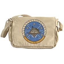 USS Dwight D. Eisenhower CVN-69 Messenger Bag