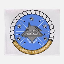 Uss Dwight D. Eisenhower Cvn-69 Throw Blanket