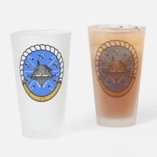 USS Dwight D. Eisenhower CVN-69 Drinking Glass