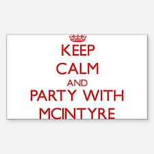 Mcintyre Decal