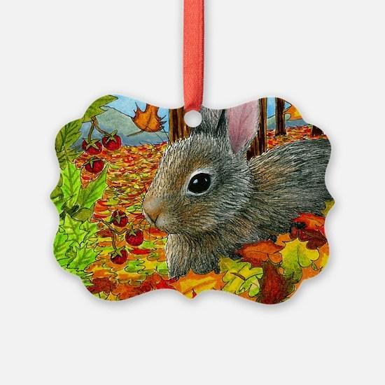 Hare 40 rabbit fall Ornament