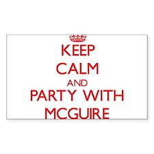 Mcguire Decal