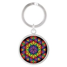 Charkas Flower of Life Keychains