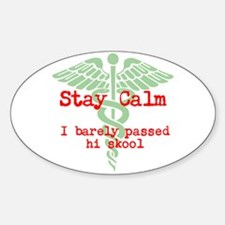 Stay Calm: I have no idea what I'm doing Decal