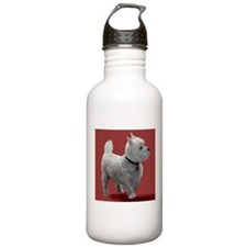 WESTIE IN THE PINK Water Bottle