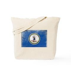 Vintage Virginia Flag Tote Bag