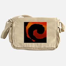 Spiral Of Flame Messenger Bag