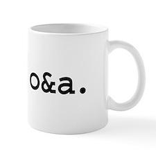 free o&a. Mug