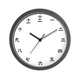 Chinese characters Basic Clocks