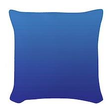 Preston Blue Woven Throw Pillow