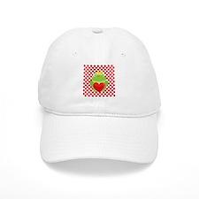Frog Prince on Red and White Baseball Baseball Cap