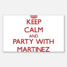 Martinez Decal