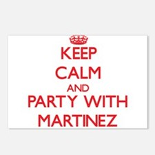 Martinez Postcards (Package of 8)