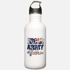 ProudArmyVeteran Water Bottle