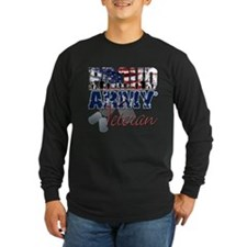 ProudArmyVeteran Long Sleeve T-Shirt