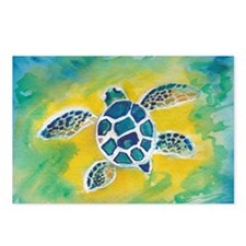 Baby Sea Turtle Hi Postcards (Package of 8)