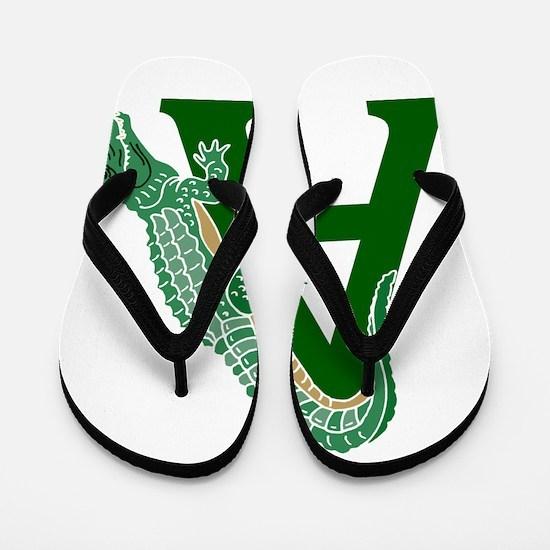 A......alligator Flip Flops