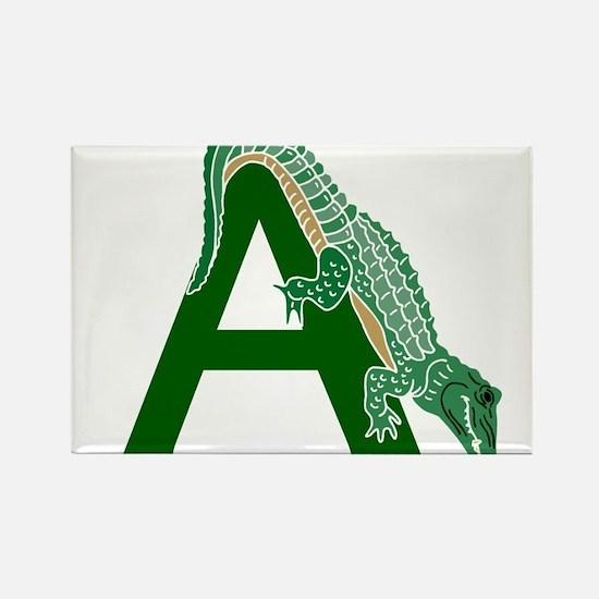 A......alligator Rectangle Magnet