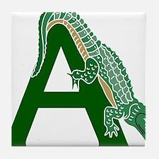 A......alligator Tile Coaster