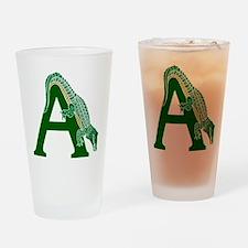 A......alligator Drinking Glass