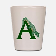 A......alligator Shot Glass