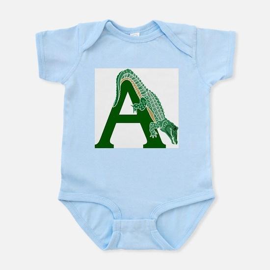 A......alligator Infant Bodysuit