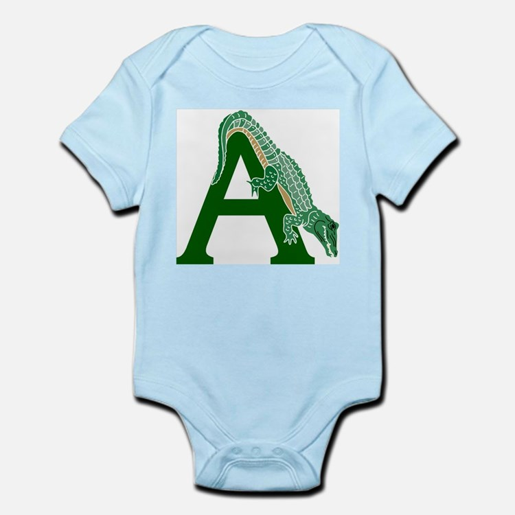 A......alligator Infant Bodysuit