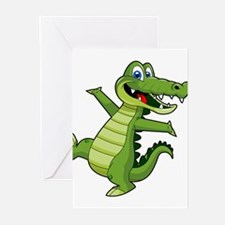ALLIGATOR147 Greeting Cards