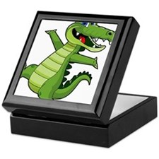 ALLIGATOR147 Keepsake Box