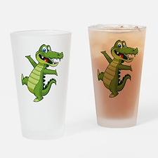 ALLIGATOR147 Drinking Glass
