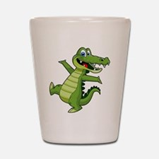 ALLIGATOR147 Shot Glass
