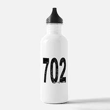 Distressed Las Vegas 702 Water Bottle
