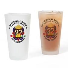 Army - 27th Surgical Hospital w SVC Drinking Glass