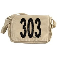 Distressed Denver 303 Messenger Bag