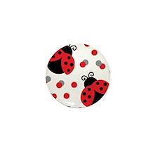 LADYBUG DUO Mini Button (10 pack)