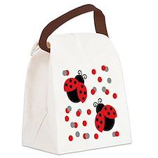 LADYBUG DUO Canvas Lunch Bag