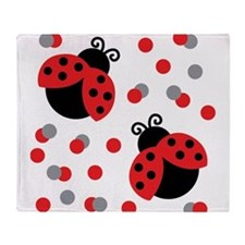 LADYBUG DUO Throw Blanket