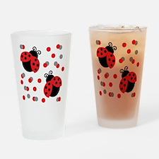 Ladybug Duo Drinking Glass