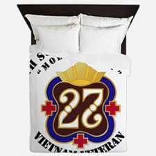 Army - 27th Surgical Hospital NO SVC R Queen Duvet