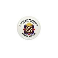 Army - 27th Surgical Hospital NO SVC R Mini Button