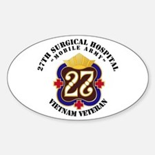 Army - 27th Surgical Hospital NO SV Decal