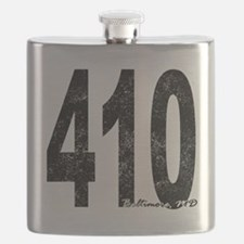 Distressed Baltimore 410 Flask