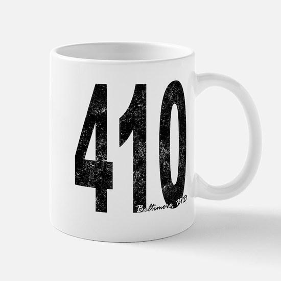 Distressed Baltimore 410 Mugs