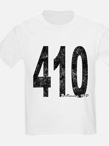 Distressed Baltimore 410 T-Shirt