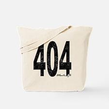 Distressed Atlanta 404 Tote Bag