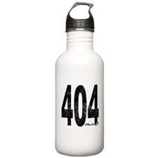 Distressed Atlanta 404 Water Bottle