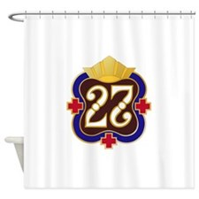 Army - 27th Surgical Hospital No Te Shower Curtain