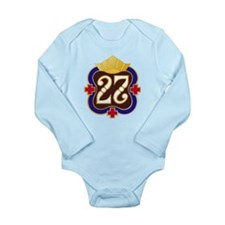 Army - 27th Surgical H Long Sleeve Infant Bodysuit