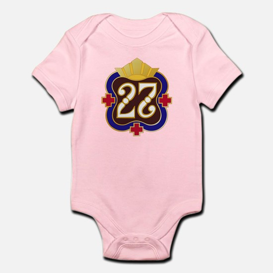 Army - 27th Surgical Hospital No T Infant Bodysuit